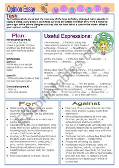 A plan, useful vocabulary and ideas on the issue. Ielts Writing Task 2, Writing Worksheets, Persuasive Writing, Academic Writing, English Writing, Teaching English, Essay Writing Examples, Essay Writing Skills, Study Skills