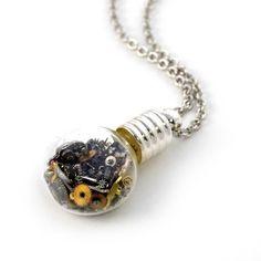 steampunk necklace #steampunk