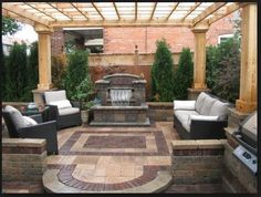 sometimes it seems hard to live large in a small space, but you ... - Backyard Patio Designs Small Yards