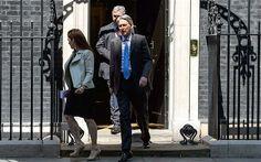 Philip Hammond leaves 10 Downing Street