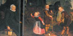'Boys Playing Kolf on a Road.' Nicolaes Eliasz. Pickenoy, ca. 1624.