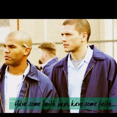 Prison Break! Cell mates - Scofield and Sucre - Michael Scofield is yummmy