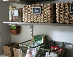 Ordnung In Der Küche Schaffen Wandregale Kisten Stauraum