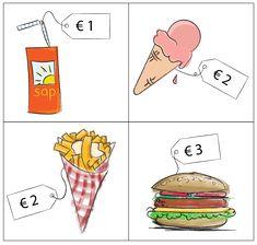 Savings Planner, Budget Planner, Preschool Math, Teaching Math, Euro, Money Activities, Money Plan, Grande Section, Teacher Cards