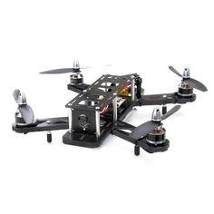 Lumenier QAV250-G10-RTF Mini Quadcopter RTF (Black)