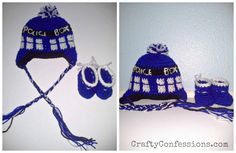 Handmade Doctor Who baby gifts from CraftyConfessions.com