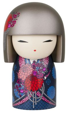"""Kimmidoll™ Tomona - 'True Friend' - """"My spirit is direct but respectful. Your straightforward yet sensitive way honours the truth of my spirit. May those you love value your honest heart and cherish the true friendship they share with you."""""""