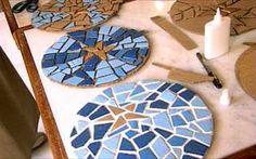 Como fazer mosaico de papelão passo a passo | ARTESANATO PASSO A PASSO!