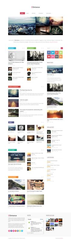 Entrance - WordPress Theme for Magazine and Review. More info http://themeforest.net/item/entrance-wordpress-theme-for-magazine-and-review/6815286?ref=ubaidullahbutt