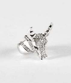 #Buckle                   #ring                     #Deer #Ring #Women's #Accessories #Buckle           BKE Deer Ring - Women's Accessories | Buckle                                  http://www.seapai.com/product.aspx?PID=332623