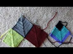Ladybug Laboratory - Blanket Tutorial 2: Connecting Sqaures - YouTube