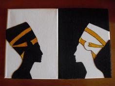 Origami, Drink Sleeves, Playing Cards, Google, Paper, Home, Egyptian, African, Silhouettes