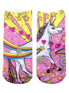 Unicorn socks: http://shop.nylonmag.com/collections/whats-new/products/unicorn-socks #NYLONshop