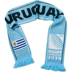 Uruguay - Rugby WC 2015 Scarf Ideal Gift for all Rugby Fans Scarf Dimensions x approx Brand New with Tags - Header Card Official Licensed Snood Scarf, Bandana Scarf, Uruguay Flag, Skull Face Mask, Skull Scarf, Flag Logo, Tube Scarf, Rugby World Cup, Neck Warmer
