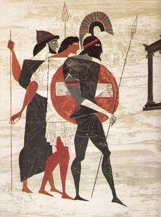 Homer para jóvenes lectores: Vibrante Ejemplos del vintage Los Provensens 'de la Ilíada y la Odisea | Cosechas cerebrales