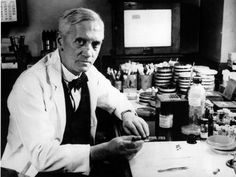 Penicillin invented in 1929 by Dr. Alexander Fleming, London, England.