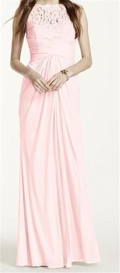 Endofjune Gorgeous Strapless Chiffon Floor-length Prom Dress US-14 Pink *** For more information, visit now : Mother of the Bride