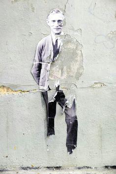 Leo & pipo - street art - Paris 19 - rue de l'équerre