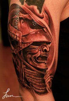 Resultado de imagem para melhores tattoo de samurais