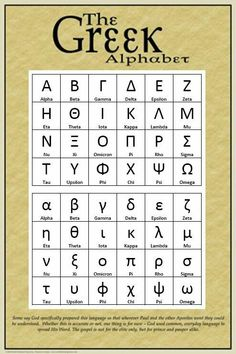 The Greek alphabet has been used since century BC. It was mostly derived from the earlier Phoenician alphabets and was the first alphabetic script to have distinct letters for vowels as well as consonants. Alphabet Charts, Alphabet Coloring Pages, Ancient Alphabets, Greek Crafts, Learn Greek, Greek Alphabet, World Thinking Day, Greek Language, Ancient Greece