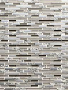 Beige color glossy matte metallic and rough finish #backsplash tile http:// backsplash