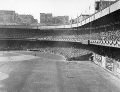 Polo Grounds Baseball Park, Giants Baseball, Sports Baseball, New York Stadium, Stadium Tour, Shea Stadium, Yankee Stadium, Polo Grounds, Sports Stadium