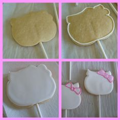 how to make a hello kitty cookie