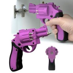 Pink Gun Power Screw Driver