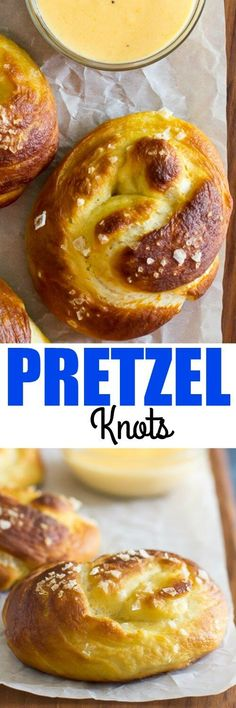 Homemade Soft Pretzels that are soft and chewy on the inside and crackly brown on the outside. Knot or twist your way to the BEST soft pretzels you've ever had! Pinned over times! Appetizer Recipes, Snack Recipes, Dessert Recipes, Cooking Recipes, Appetizers, Pretzel Recipes, Desserts, Party Recipes, Drink Recipes