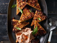 Confit kugel wedges from Food & Wine Magazine