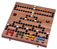 Blockade - Würfelspiel - Strategiespiel - Gesellschaftsspiel - Brettspiel aus Holz mit faltbarem Spielbrett: Amazon.de: Spielzeug