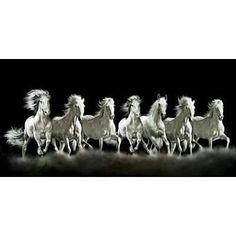 Running Horses Feng Shui Horse Wallpaper Animals Artwork Painting Ganesh