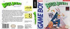 Jaquette jeu Bugs Bunny Crazy Castle, The (USA) Game Boy / Image Jeu rom game boy