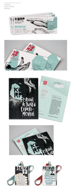 KORP. Festival de Danza Experimental - Parte I on Behance