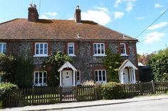 3 bedroom terraced house for sale in Flint Cottages, High Street, Jevington, East Sussex BN26 - 17951822 - Zoopla