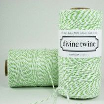 Ficelle Divine Twine vert pomme