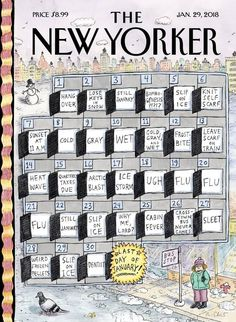 The New Yorker, New Yorker Covers, Roz Chast, Lost Keys, Thing 1, Cover Art, Cold, Art Prints, January 29