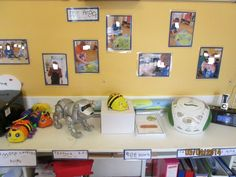 ICT area at Teddies Southampton Eyfs, Little Ones, Preschool, Gallery Wall, Southampton, Frame, Teaching Ideas, Classroom Ideas, Safety