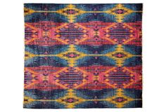 "7'10""x8'8"" Ovalle Rug, Blue/Multi 