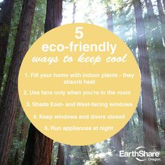 Stay green while you're keeping cool - tips from our friends at EarthShare Oregon!    https://image-store.slidesharecdn.com/2b4fa92a-0157-11e4-8ccf-22000ab31218-original.png