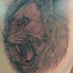 Photo by daleboudreau Lion, Portrait, Tattoos, Instagram Posts, Animals, Animales, Tatuajes, Animaux, Leo