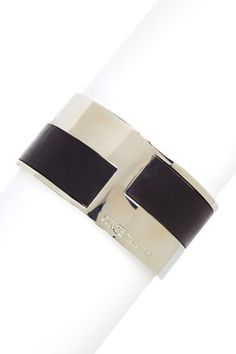 Vince Camuto Leather Mixed Bangle