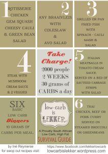 30 grams Dinner