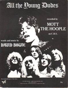 #davidbowie #1972 #ziggystardust #all #young #dudes #mott #the #hoople