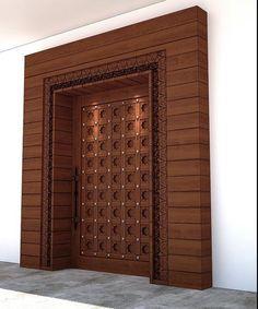 Main Door Ideas Entrance Home 29 Ideas For 2019 - Home Door Design, Pooja Room Door Design, Door Gate Design, Door Design Interior, House Design, Window Design, Main Entrance Door Design, Wooden Front Door Design, Main Gate Design