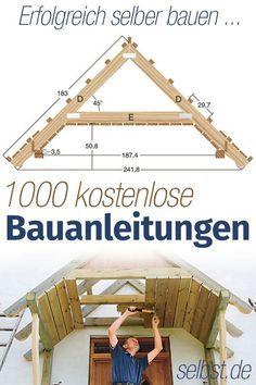 Hier steht, wie's geht: Für jedes DIY-Projekt die passende Bauanleitung? Auf selbst.de findest du sie kostenlos!