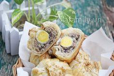Bánh bao nướng: món ăn ấm bụng ngày đông