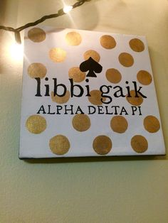 ADPi Big Little Gifts