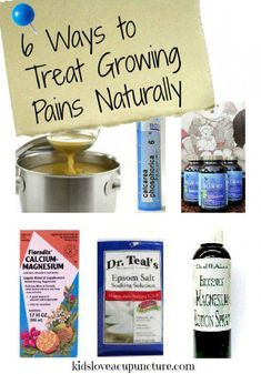 remedies for growing pains