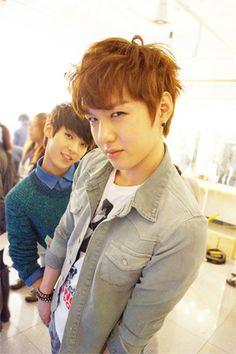 Changsub and Minhyuk! sooo cute! love btob